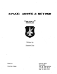 Screenplay: Space: Above And Beyond - Episode 3