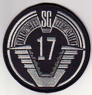 SGC Offworld Team Patch - SG-17