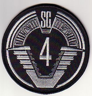 SGC Offworld Team Patch - SG-4