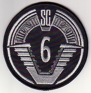SGC Offworld Team Patch - SG-6