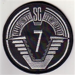 SGC Offworld Team Patch - SG-7