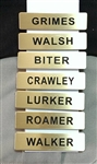 Walking Dead King County GA Sheriff's Shirt Nameplate