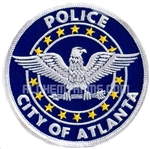 Walking Dead Patch: Atlanta Police