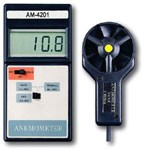 "AM-4201 /  Professional ""Big Digit"" High Accuracy Vane Anemometer"