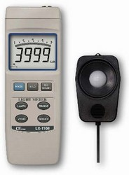 LX-1108-CC / Wide Range Lux & Ft-cd Meter with Calibration Certificate