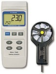 YK-2005AM / Air Velocity, Air Flow, Type J/K Thermometer & Real Time 16,000 Point Data Logger in One Precision Instrument!