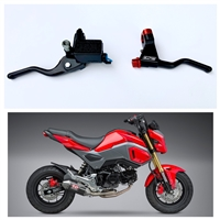 Honda Grom Easy Pull Clutch Lever And Brake Lever
