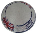 UK-Israeli Knit Kippah