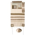 Yair Emanuel Striped Silk Tallit
