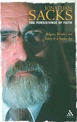 The Persistence of Faith: Religion, Morality and Society in a Secular Age by Jonathan Sacks