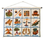Twelve Tribe Wall Hanging by Emanuel