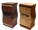 Hardwood Wave Tzedakah Box by Ed Cohen