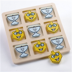 Chanukah Tic Tac Toe Wood Game