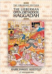 The Lieberman Open Orthodox Haggadah ( s/c)