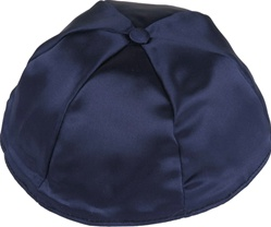 Bulk 6-Panel Satin Kippot - No Imprinting