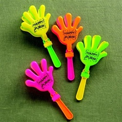 Clapping Hands Plastic Groggers