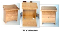 Wooden Shtender - Table Top With Door