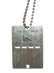 Sterling Dog Tag