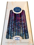 Hand-Dipped Gemtones Multicolor Chanukah Candles