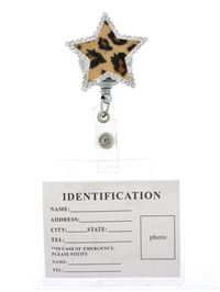 Star ID badge reel