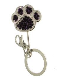 Key Ring - amethyst