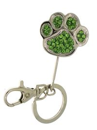 Key Ring - peridot