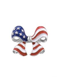 US Flag Bow Pin
