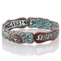 Serendipity Stretch Bracelet - Patina