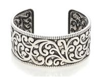 Filigree Brass Cuff