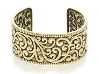 Bracelet - gold burnish