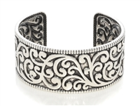 Bracelet - silver burnish