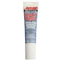 Rutland Seal It Right 2,7 oz. Scellant pour appareils à ventilation directe - Latex noir # 641C