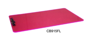 "Legal Size Clipboard 9 x 15"" Fluorescent Acrylic"