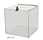 "Acrylic Comment Box 12"" x 12"" x 12"""