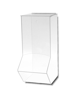 Acrylic Wall Dispenser