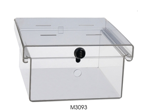 Clear Acrylic Refrigerator Lock Box