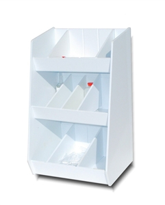 Adjustable Storage with Ten Bins