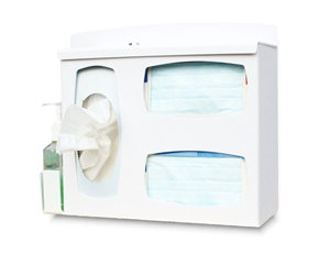 Locking Respiratory Hygiene Station