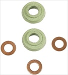 Oil Cooler Adapter Seals, 8x10mm, PAIR, 111-117-151B or 111-198-029