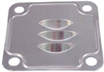 Generator and Alternator Stand Oil Deflector Plate, Between Case and Stand, 40hp-1600cc Engines, 113-101-221B