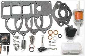 Master Carburetor Rebuild Kit, Solex, Brosol and Bocar 28 PICT, 30 PICT, 30/31 PICT, and 34 PICT Carburetors, 113-198-575U
