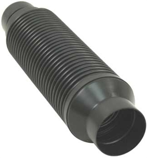 "Heater Hose, Heater Box to Chassis, 60/63mm x 14"" Long, 1966-67 Type 1, Each, 113-255-355D"