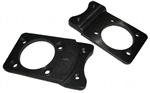 Front Disc Brake Conversion Caliper Brackets, Front, 1971-79 Super Beetle, Pair, 22-2845-7