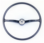 Stock Steering Wheel, Wheel Only, Black, 1962-71 Beetle, Super Beetle, Karmann Ghia, and Type 3 , 311-415-651C-BK
