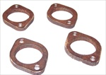 A/F (Angleflo) Exhaust Port Flanges, 4 Piece Set, 4006-62