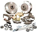 Zero Offset Wide 5 Disc Brake Kit, Link Pin Type 1 (1949-65 Beetle and Ghia), Stock Height Spindles ONLY, 401498