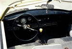 Air Conditioner Kit, 1958-74 Karmann Ghia, Black Textured Under Dash Unit