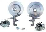 "Front Disc Brake Kit, Ball Joint Beetle and Ghia, 2"" Lowered, 4 x 130mm"