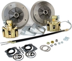 Wide-5 Rear Disc Brake Kit With Emergency Brake, 5 Lug, Long Swing Axle, 4641