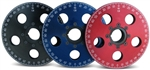 "CB Performance 7"" Anodized (Black, Red, or Blue) Billet Aluminum Crankshaft Pulley w/Steel Hub, 2023-2024-2025"